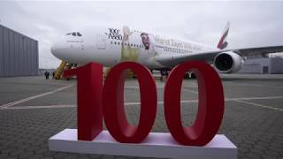 Emirates receives 100th Airbus A380 | Emirates Airline