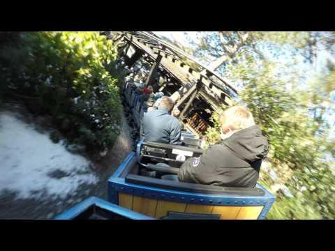 Alpenexpress Enzian (Onride) Europapark Rust Winter 2017 (4K)