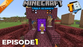 EPISODE 1 | Truly Bedrock Season 2 [1] | Minecraft Bedrock Edition 1.14 SMP