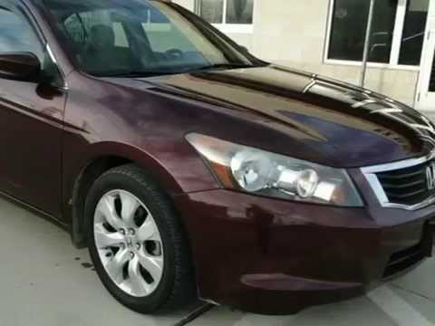 2008 Honda Accord Sdn 4dr I4 Auto EX-L (Grand Prairie, Texas) Buy here pay here, No credit check.