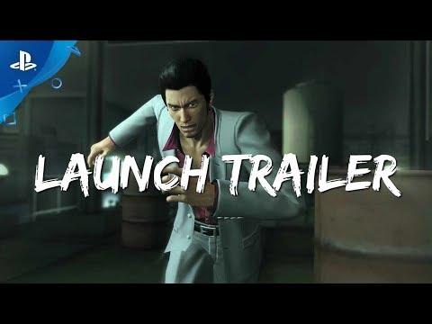 Yakuza Kiwami Launch Trailer | PS4