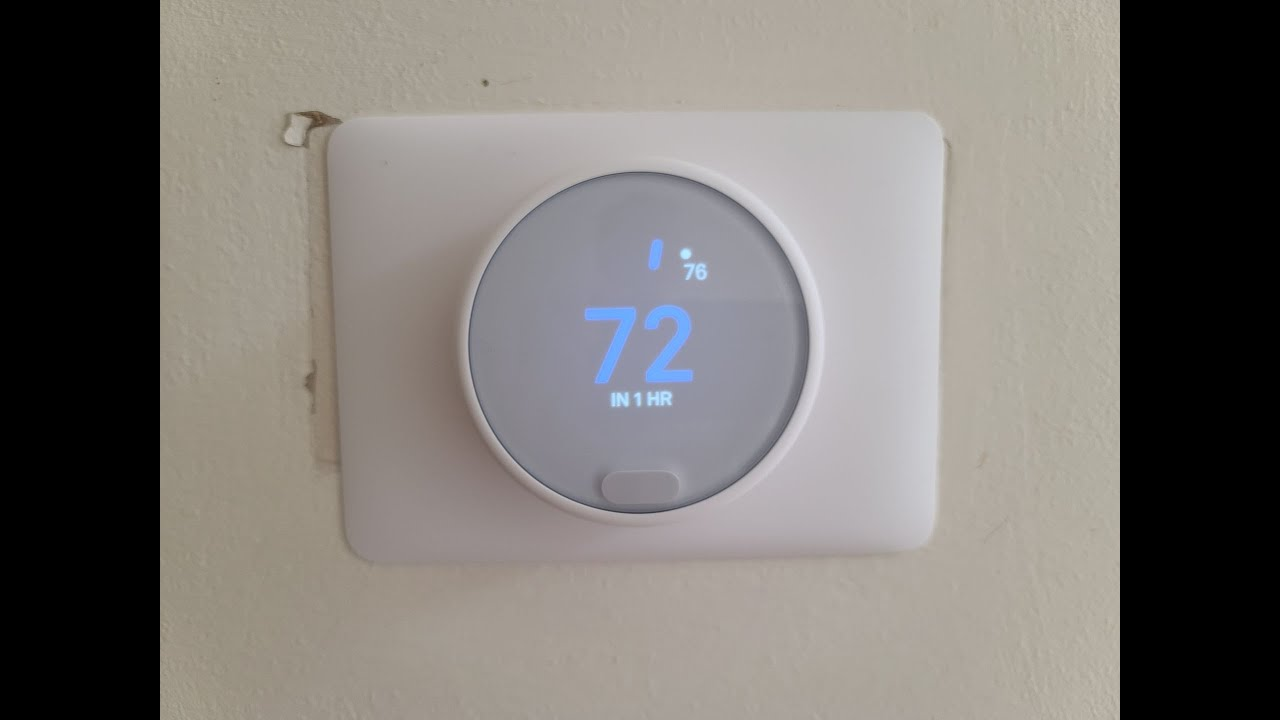 Nest Thermostat E Install By A Dummy
