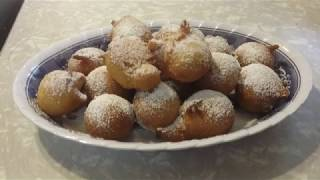 Carmela's Kitchen: Quick Donuts in less than 30 minutes!