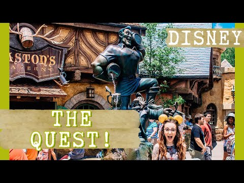The QUEST for MagicBands + Belle Ears! || May 2016