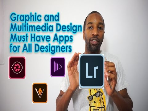 Productive Design Apps For Artist, Fashion, Graphics And Multimedia Designers