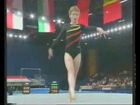 Young Gymnast of the Year 1991 at Wembley Arena