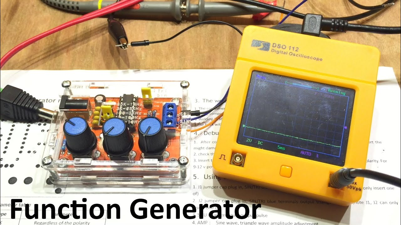 Playing With Function Generators The Jyetech Oscilloscope Youtube Tri Waveform Generator