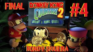Donkey Kong Country 2: Diddy's Kong Quest. #4. SNES ( Em Busca dos 102%) (Fase Do VULCÃO)