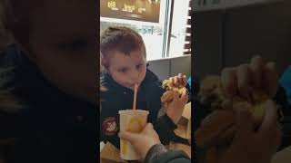Rex's grand big mac challenge.