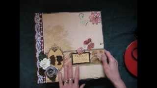 11x11 Scrapbook Not-So-Mini Album (Tutorial Now Available)