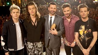 Jimmy Kimmel Introduces One Direction