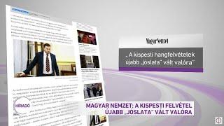 Magyar Nemzet: A kispesti hangfelvételek újabb