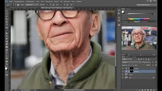 Видео уроки Photoshop – Обработка уличного портрета в фотошоп