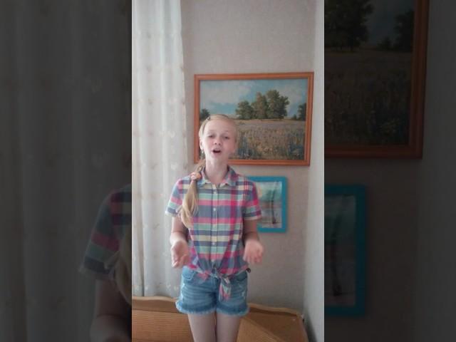 Изображение предпросмотра прочтения – ДарьяСевостьянова читает произведение «Крестьянские дети» Н.А.Некрасова