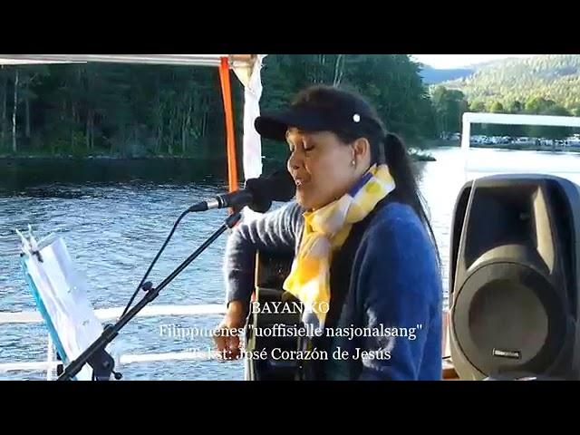 Konsert med Mona Lisa Lieng om bord pa MS Eikern