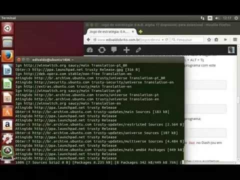 Instalando o jogo de estratégia 0 A.D. no Ubuntu