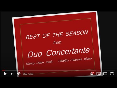 Duo Concertante - We Wish You a Merry Christmas