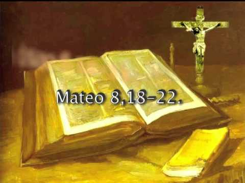 Resultado de imagen para Mateo 8,18-22