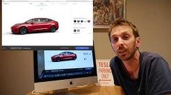 Tesla Model 3 : Les tarifs en France !