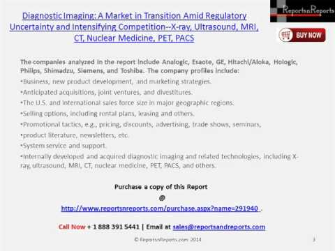 Diagnostic Imaging (Nuclear Medicine, PET, PACS) Industry Research Report