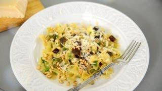 Паста с баклажанами - простой рецепт - как приготовить вкусный ужин