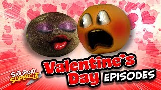 Annoying Orange - Valentine's Day Supercut! (Love is in the Kitchen!)