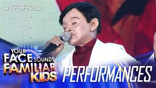 Your Face Sounds Familiar Kids: Awra Briguela as Dolphy - Fly Me To The Moon