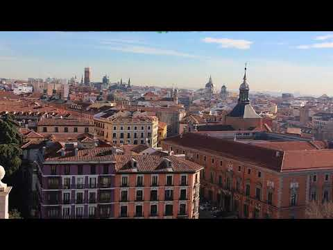 Royal Palace & Almudena Cathedral, Madrid Spain
