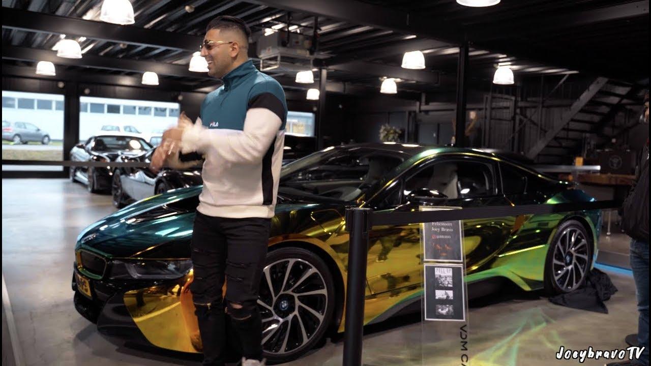 JOEY BRAVO KOOPT BMW i8 VAN € 150.000