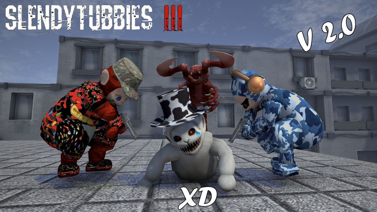 Crawling tubby a evolucionado -- Slendytubbies 3 -- JULINWORLD 15