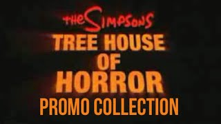 The Simpsons Treehouse of Horror Promo Collection (Updated)