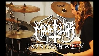 �������� ���� Marduk - Frontschwein - Black metal drum cover - drums by Bobnar Simon ������