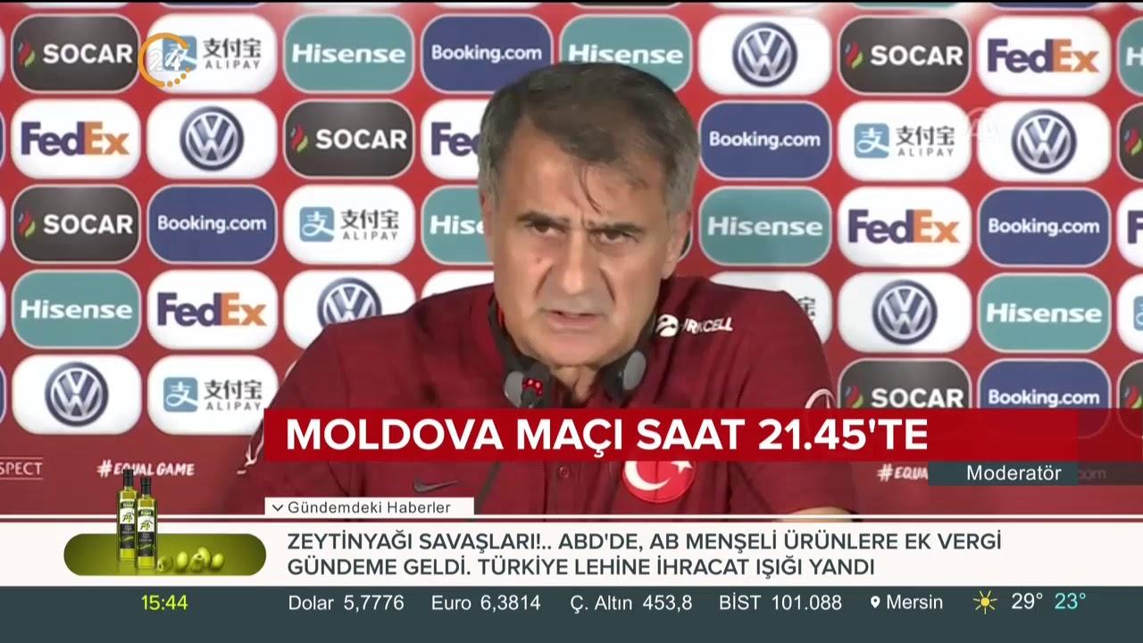 Milliler, Moldova maçına hazır (Bu akşam 21.45'te)