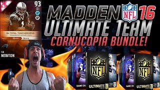 CORNUCOPIA BUNDLE IS SICK! 1 OF EACH PACK! ULTIMATE & GAME CHANGER PACKS!- MADDEN 16 ULTIMATE TEAM