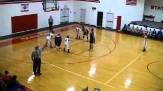 FBC Patriots Basketball vs. Hammond Baptist JV 1 of 4 December 12,2014