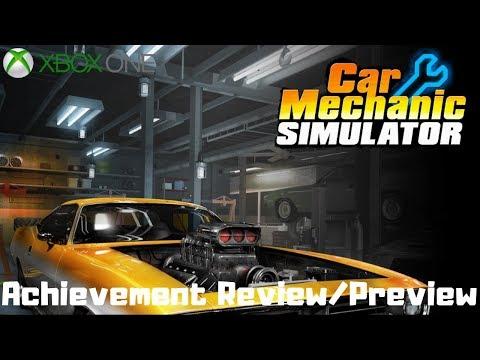 Car Mechanic Simulator (Xbox One) Achievement Review/Preview