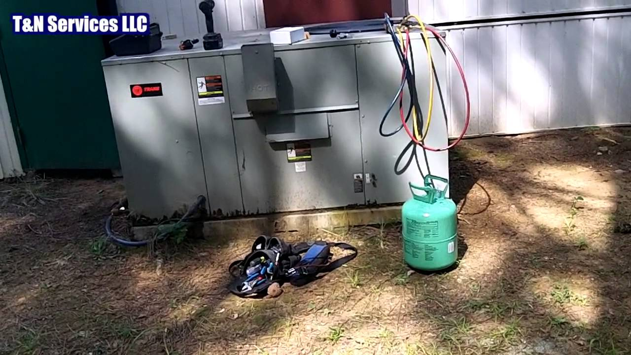 Trane Evaporator Coil Leak
