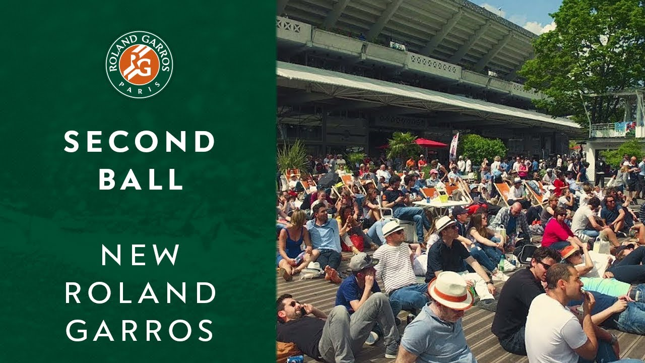 Second Ball | New Roland Garros