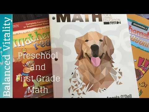 Math Lessons for a Living Education & Mathematical Reasoning | Choices for 2017-2018