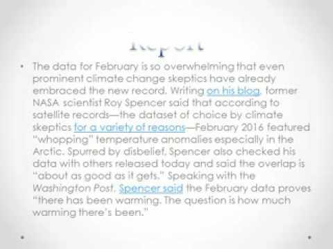 Effect of Global Warming x264