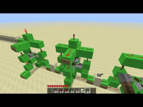 Minecraft - 3 & 4 Input XOR/XNOR Gate