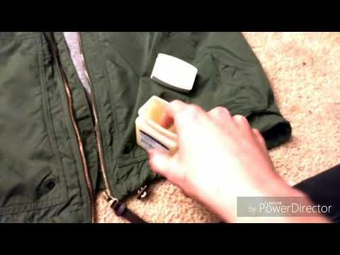 Zipper lubrication tutorial