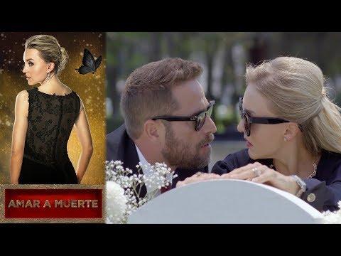 León le confiesa a Lucía que sigue vivo | Amar a Muerte |Televisa