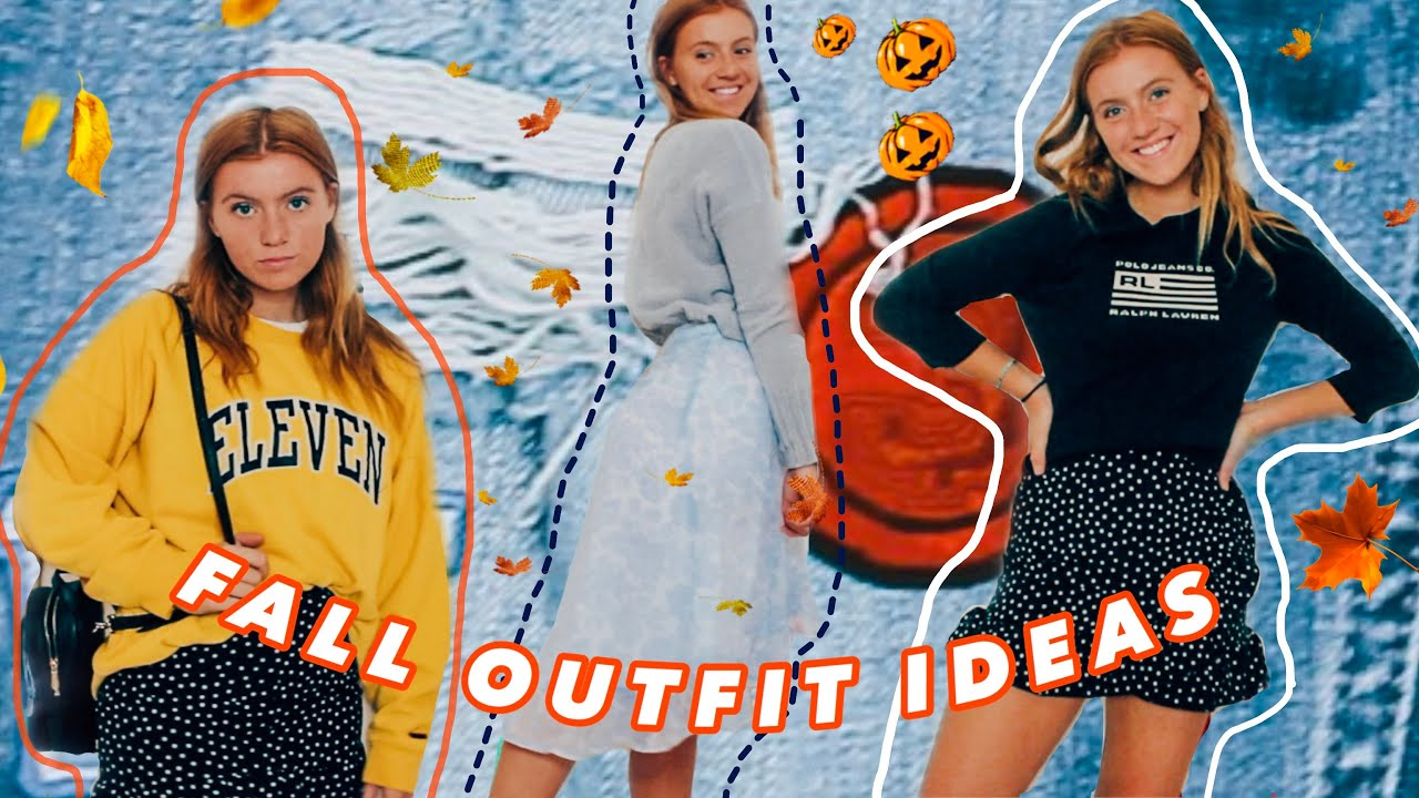 [VIDEO] - FALL OUTFIT IDEAS 2019 ! *cute & comfy outfits* 3