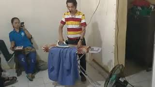 TESDA proper ironing