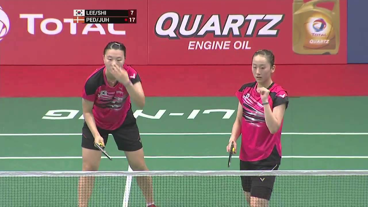 TOTAL BWF World Championships 2015 | Badminton Day 4 R16 M5-WD | Lee ...