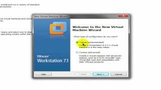 Como Crear una Maquina Virtual (VMWare)