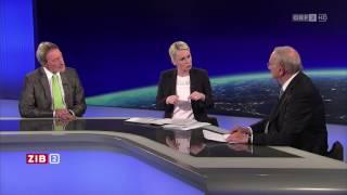 ZIB 2 Böhmdorfer und Mayer über die Wahlanfechtung