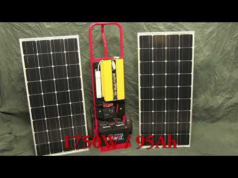 DIY Off-Grid Solar Generator (rev 1) – Low-Cost Portable Pow