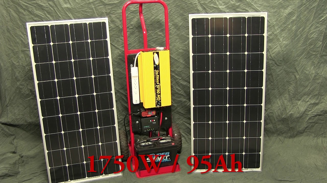 DIY Off-Grid Solar Generator (rev 1) – Low-Cost Portable Power on